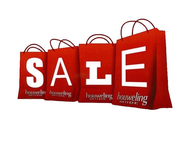 Sale op producten